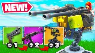 Turret Gun Game New Game Mode In Fortnite Battle Royale