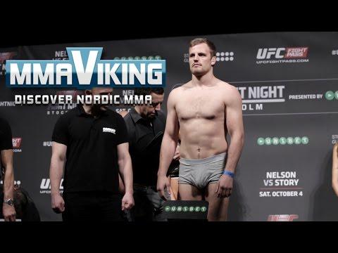 UFC Sweden 3 Weigh Ins Gunnar Nelson vs. Rick Story
