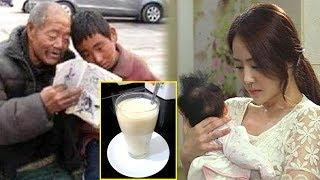 Hai Mẹ Con Bi Chồng Đu,ổ,i Đi, Ông Lão Thư,ơ,g Ngày Nào Cũng Cho Cậu Be' 1 Ly Sữa Rồi 20 Năm Sau...