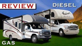 Diesel Class C Motorhomes or Gas Class C RVs: Motorhome Reviews