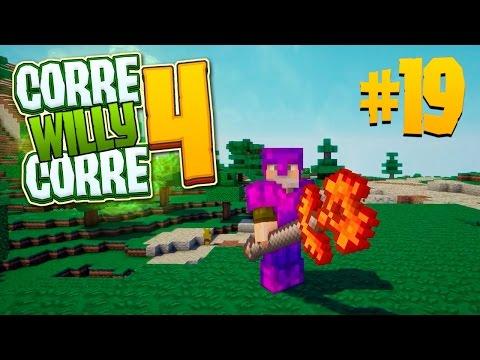 NUEVAS ARMAS!! #CorreWillyCorre4   Episodio 19   MINECRAFT Mods Serie