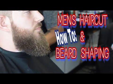 Barber Tutorial | Beard Shaping | Regular Mens Haircut