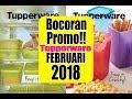 FULL Katalog Tupperware PROMO Februari 2018