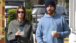 Scott Disick And Sofia Richie Enjoy A Romantic Frozen Yogurt In Malibu