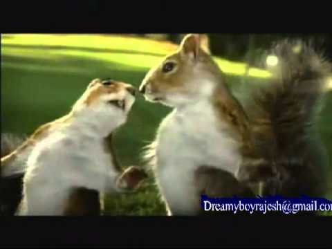 Nestle Kit Kat Squirrel Ad Aug 2010 Break Banta Hai Raj Dream video