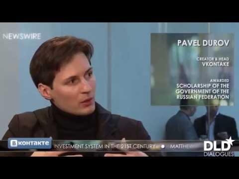 Интервью Павла Дурова, единственный перевод на русский язык