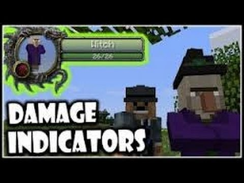 Minecraft 1.5.2-Como instalar Damage Indicator  MOD -Review-TUTORIAL- ESPAÑOL]