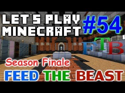 Let's Play Minecraft Hermitcraft FTB Ep. 54 - Season Finale!!! Ender Dragon Hydra & Naga Fight