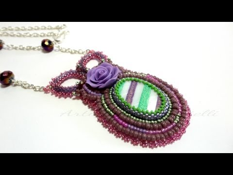 Video Creazioni | Bead Embroidery | Ciondoli Embroidery | Perline Delica Rocailles