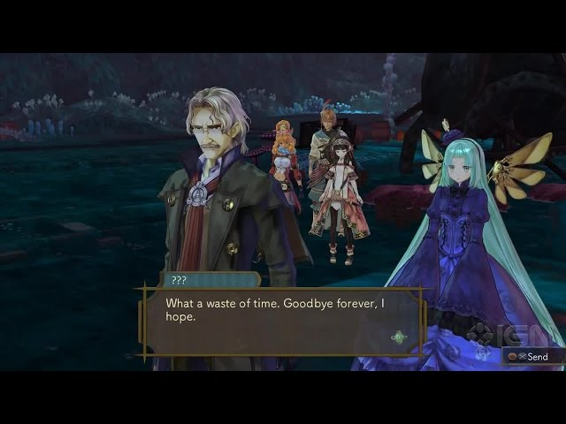Atelier Shallie: Alchemist of the Dusk Sea - Event: The Land of the Dead