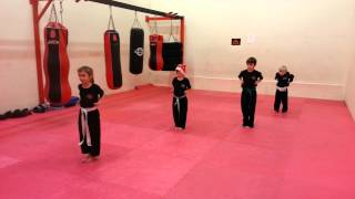 Christmas Musical Kata Class in Poynton, Stockport. ShantiAcademy.co.uk