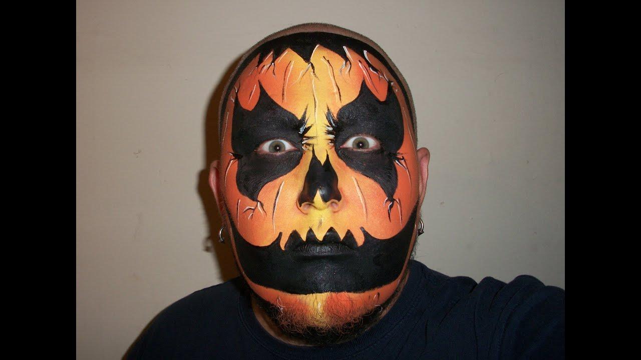 Pumpkin painting faces ideas