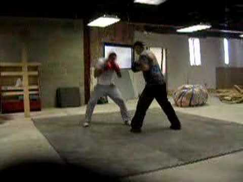 Boxing Training - Focus Mitt work clip 2 Image 1