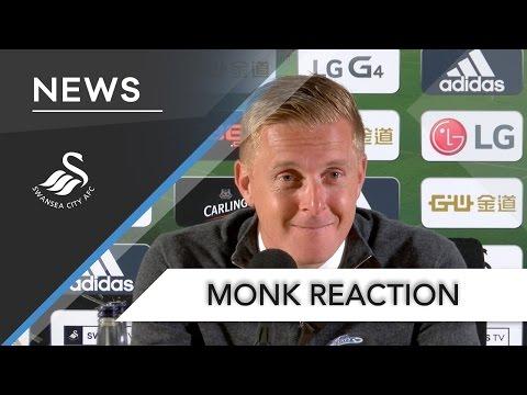 Swans TV - Reaction: Garry Monk on Everton