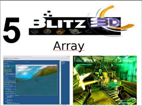 Video 5 - Curso Programación de juegos con Blitz 3d - Array