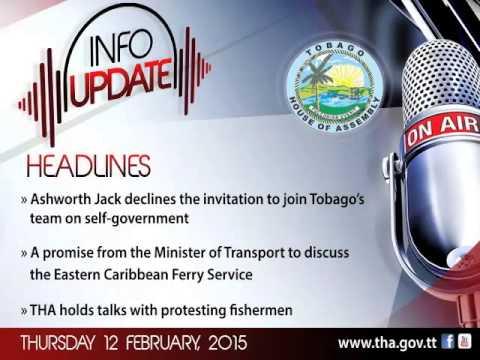 InfoUpdate - Thursday 12 February, 2015