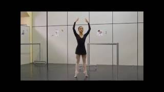 Mariana Paschoal  ballet class, contemporary variation and classical variation