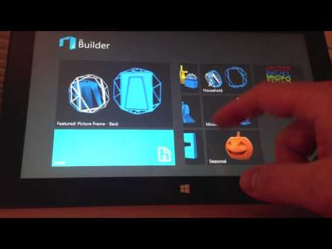 Microsoft's 3D Builder app for Windows 8.1
