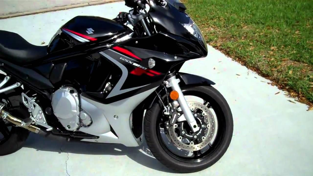 My Motorcycle - 2008 Suzuki Gsx650f