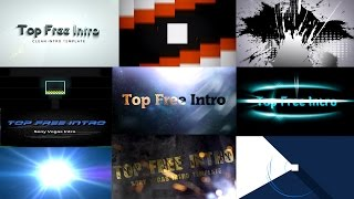 Top 10 Intro Templates Free Sony Vegas Pro 13 Download