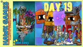 Plants vs. Zombies 2 - Thyme Twist World by Birdstar - Day 19 (Player