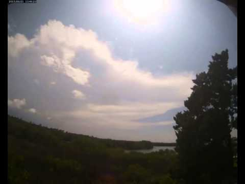 Cloud Camera 2015-08-21: Pasco Energy and Marine Center