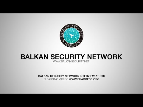 Balkan Security Network Interview at Radio Television of Serbia