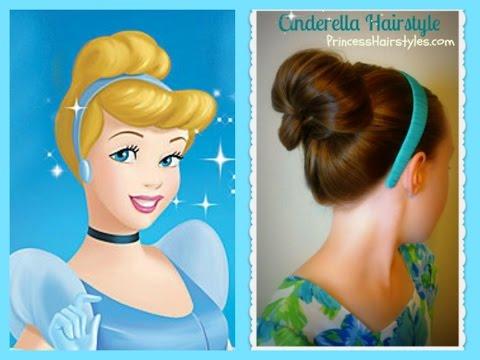 Cinderella Hairstyle Tutorial, Princess Hairstyles