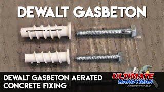 Dewalt Gasbeton aerated concrete fixing