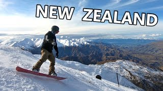 Snowboarding in New Zealand Day 1