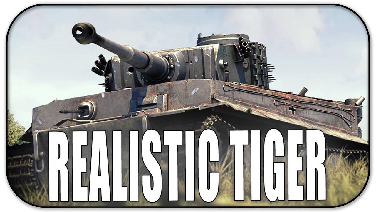 Realistic tiger makeup