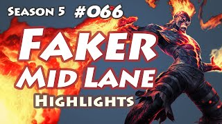SKT T1 Faker - Brand vs Kassadin - KR LOL SoloQ Highlights