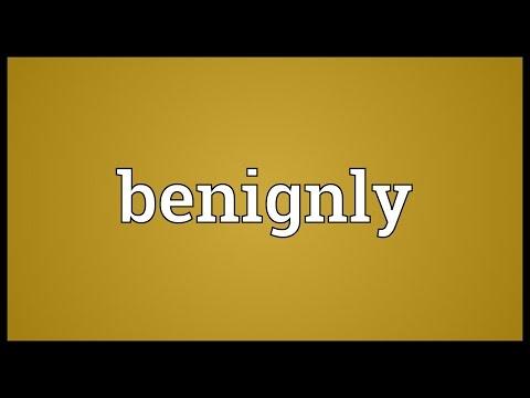 Header of benignly