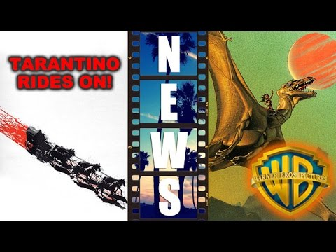 Tarantino's Hateful Eight poster, Warner Bros sets Dragonriders of Pern Movie! - Beyond The Trailer