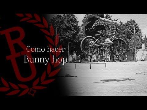 Como hacer bunny hop BMX (How to bunny hop BMX)