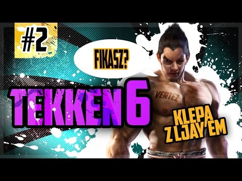 EPICKIE WALKI Z JASKINIOWCEM!   Tekken 6   Vertez & LJay
