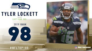 #98: Tyler Lockett (WR, Seahawks) | Top 100 Players of 2019 | NFL