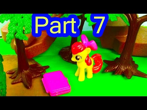 MLP Airport - Jungle Hiding - My Little Pony Travel Part 7 Apple Bloom