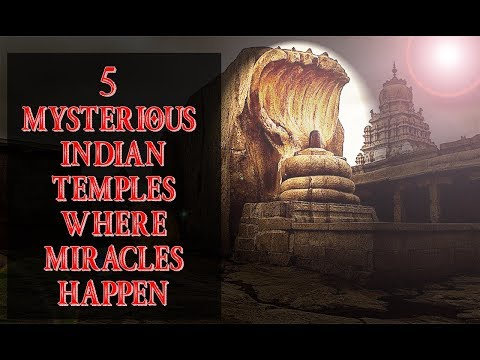 Top 5  - Mysterious Indian Temples Where Miracles Still  Happen | Believe It Or Not