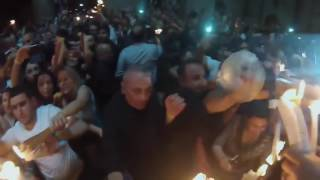 Descent Of The Blessed Holy Fire In Jerusalem 2017