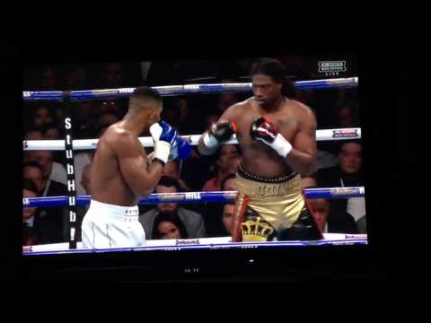 Anthony Joshua vs Charles Martin full fight 4K