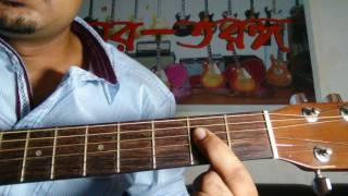 Amar Sonar Bangla Guitar Lesson Part 1&2 - G Sharif