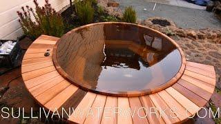 Western Red Cedar Hot Tub Construction