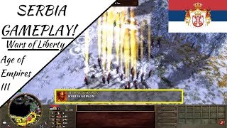 Serbia Gameplay 2v2! Wars of Liberty | Age of Empires III