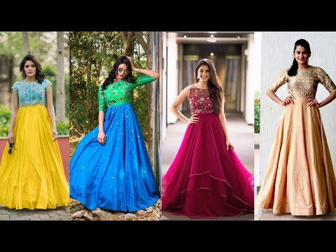 Latest PartyWear Long Frocks / Gown Suits Designs || Most Stylish Fashion World