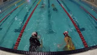 Melbourne Underwater Rugby Swimming Training