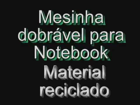 Marcenaria IX - Mesinha para Notebook.