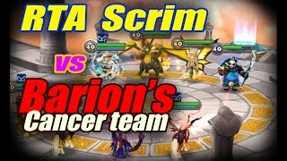 Summoners War - RTA scrim vs Barion