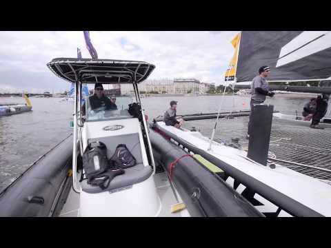 ETNZ: Extreme Sailing Series Russia- Race Day 2