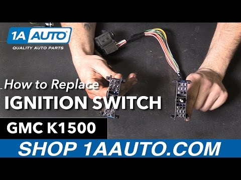 How to Replace Install Ignition Starter Switch 1995-96 GMC Sierra Buy Auto Parts at 1AAuto.com